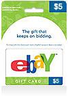 eBay Gift Card 5$ (US)