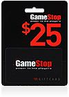 GameStop Gift Card 25$ (US)