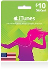 iTunes Gift Card (US) 10$