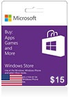 Windows Phone Store Gift Card (US) 15$