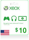Xbox Live Gift Card (US) 10$